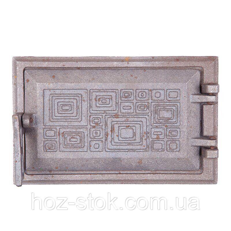 Чавунні Дверцята піддувні Булат Модерн 265х165 мм