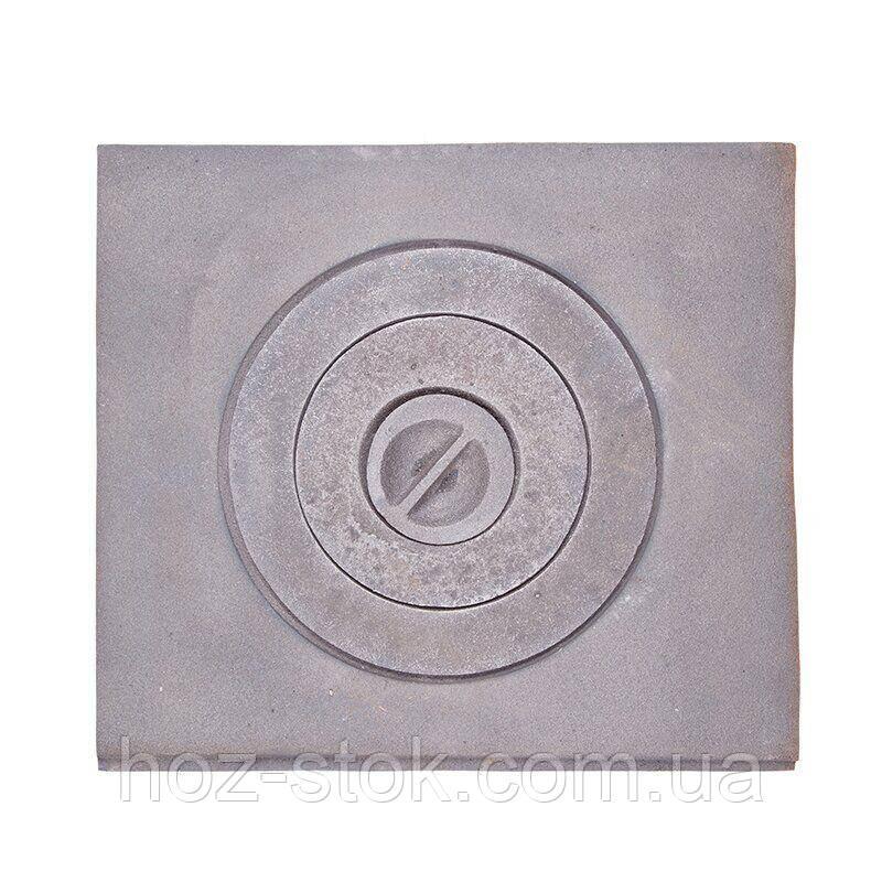 Плита чавунна одноконфорочна Булат 410х370 мм