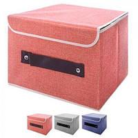 Коробка для зберігання речей Stenson Котон 40х30х20 см, R17463