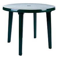 Стіл Алеана круглий, зелений