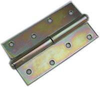 Петля анодована 130 мм права (40601506)