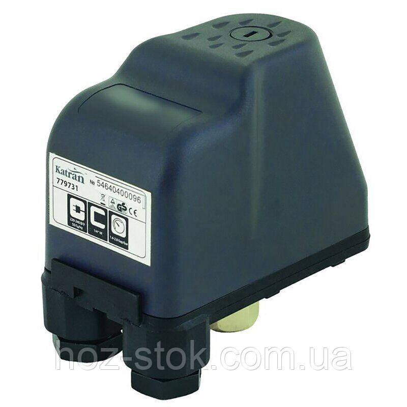 Реле тиску Katran 2.2 кВт 1.4-2.8 бар, гайка (779733)