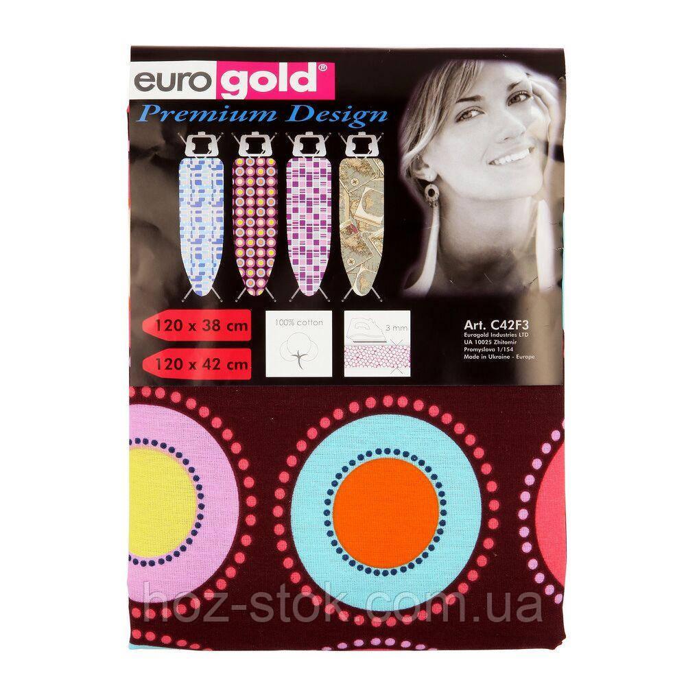 Чохол змінний для дошки з поролоном 120х38 см (120х42 см) EuroGold (С42F3)