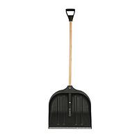 Лопата снігоприбиральна пластмасова в зборі АВС 500x490 мм, чорний