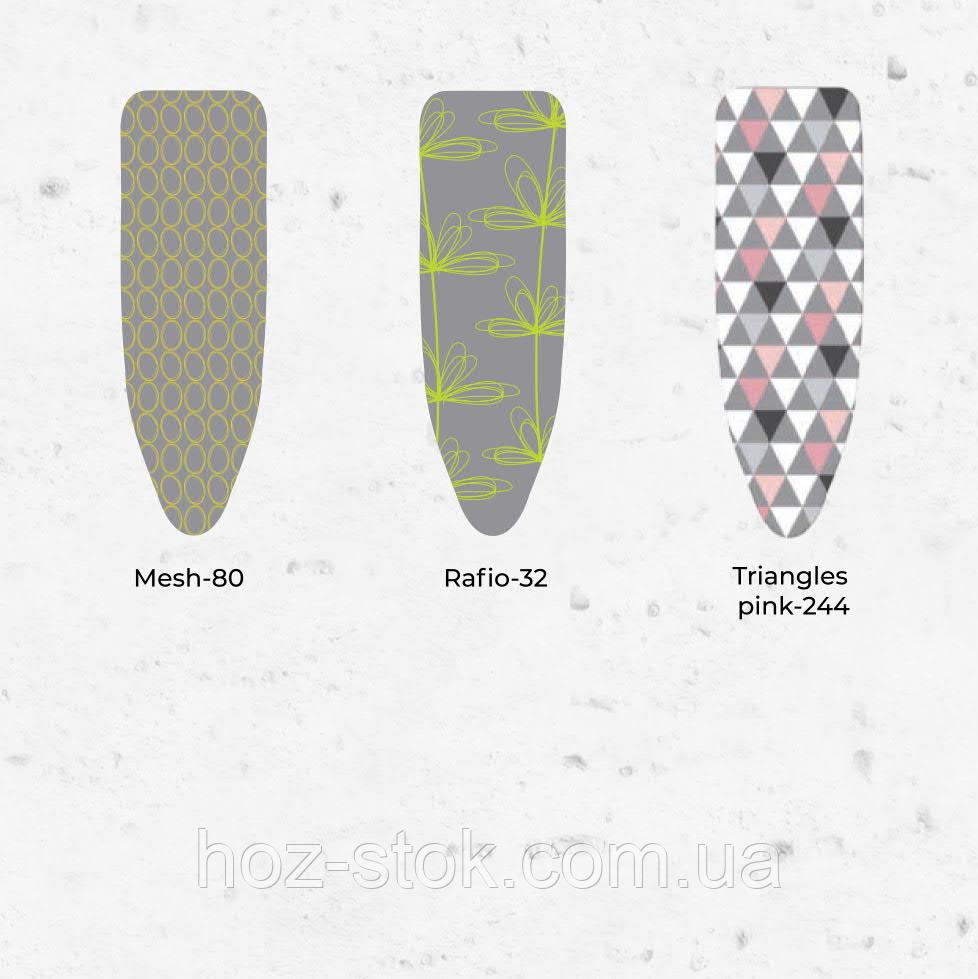 Чохол змінний EuroGold 110х30 см з поролоном і металізованою тканиною, для дошки 114х34 см
