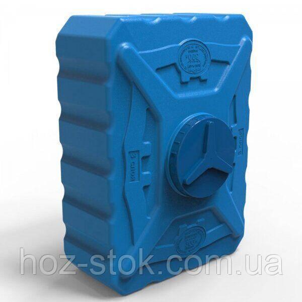 Ємність прямокутна харчова Europlast, 3 шари, синя, 300 л