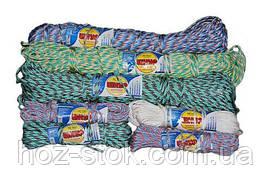 Мотузка поліпропіленова Білизна плетена жорстка 4.0 мм, 18 м (Д 42)