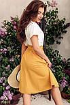 Хлопковая юбка миди на каждый день, фото 3