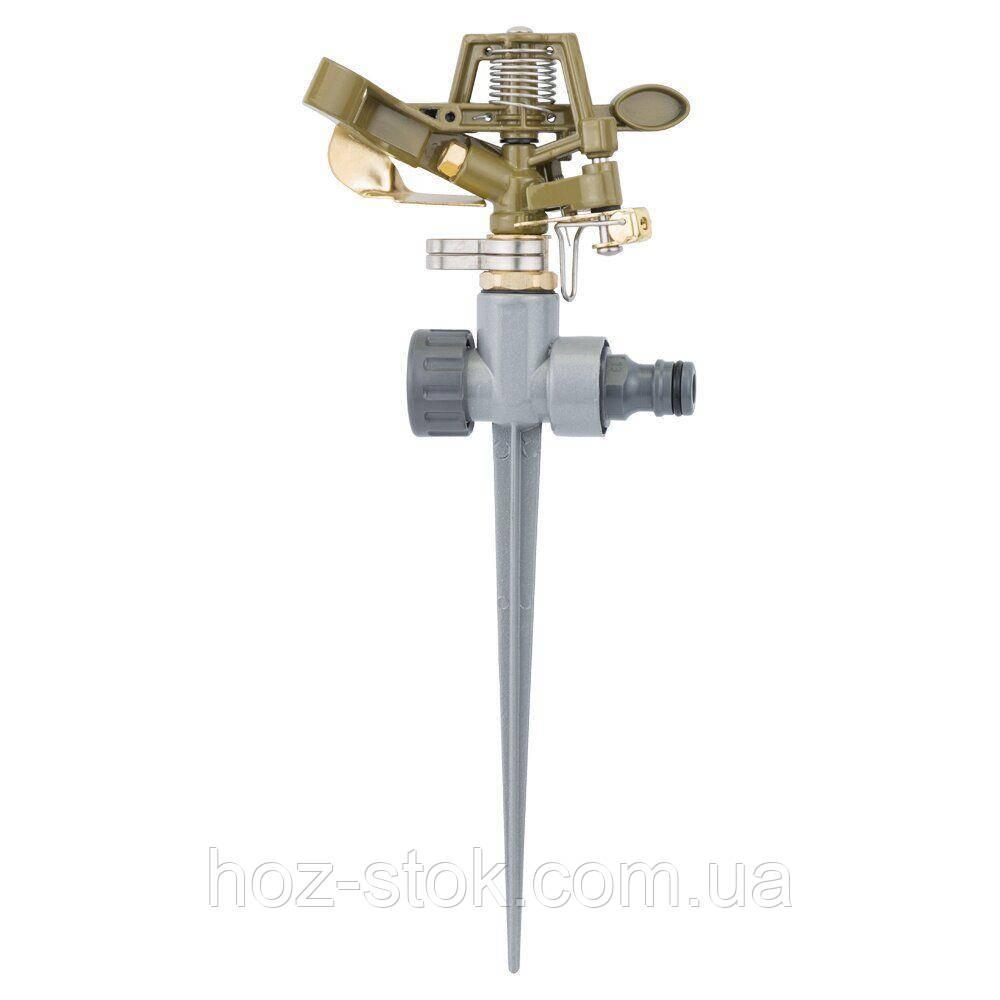 Дощувач імпульсний Флора на металевому кілочку, метал (5013224)