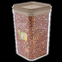Ємність для сипучих продуктів Алеана 1.3 л (кольори в асортименті) (168025)
