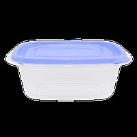 Контейнер для харчових продуктів Омега Алеана прямокутний 1.8 л (прозорий / бузковий) (167027)