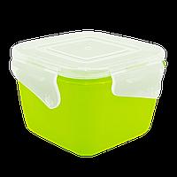 Контейнер універсальний Фієста Алеана (глибокий) 2 л (оливковий / прозорий) (168054)