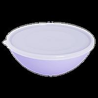 Контейнер для харчових продуктів Алеана круглий 3 л (кольори в асортименті) (167018)
