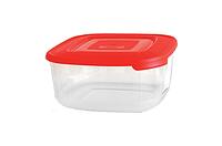 Набір контейнерів для харчових продуктів (0.95 л; 1.5 л; 2.5 л) квадратний