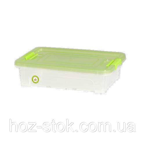 Контейнер Алеана Smart Box Practice 5.5 л, проз./оливковий/оливковий