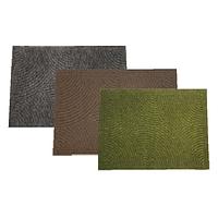 Килимок побутовий текстильний YP group 80х120 см, коричневий, хакі (84623)