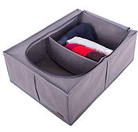 Органайзер для хранения вещей с крышкой ORGANIZE KHV2-grey серый, фото 1