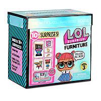 """Игровой набор с куклой L.O.L. Surprise! серии Furniture"""" S2 - Класс Умницы кукла лол фурнитура, фото 1"""