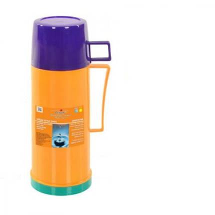 Термос питьевой Stenson DB-105-X 0,5 л со стекляной колбой, фото 2
