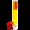 Кольорова ручна димова шашка YELLOW SMOKE, час: 80 секунд, колір диму: жовтий