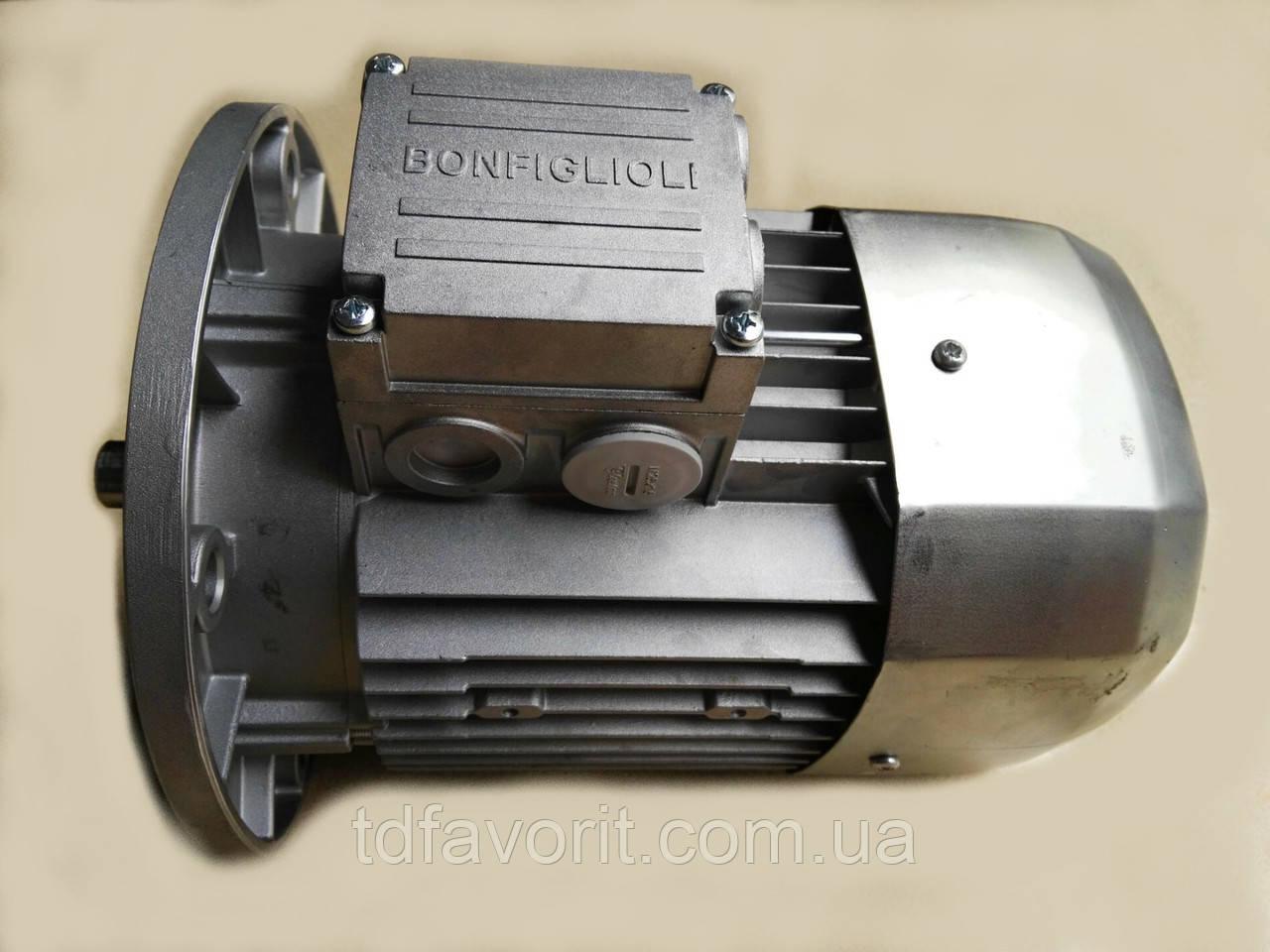 Двигатель Bonfiglioli  BN 63A4 230/400 IP55 CLF B14 (P1=0,12 кВт, n1=1500 об/хв)