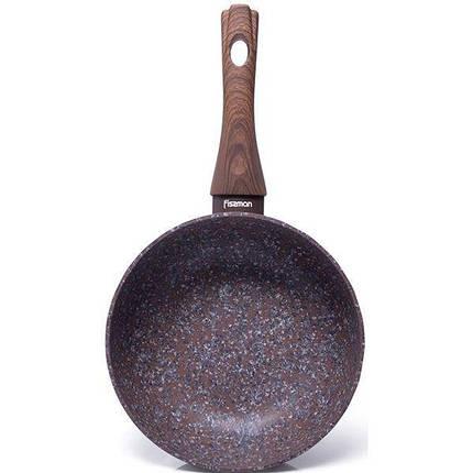 Сковорода универсальная 20x7,2 см Magic Brown Fissman 4465, фото 2