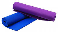 4 мм Коврик для йоги, фитнеса и гимнастики, йога мат ZELART