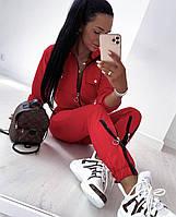 Женский спортивный костюм со змейками, фото 1