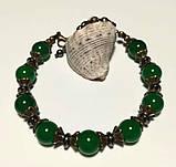 Браслет из Хризопраза, натуральный камень, тм Satori \ Sb - 0276, фото 2