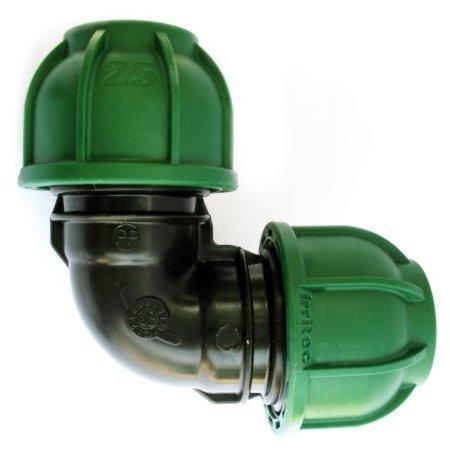 Колено компрессионное (Irritec) (25 мм)