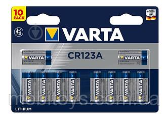 Батарейка VARTA CR 123A BLI 10шт. LITHIUM