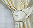 Красивый молочный комплект штор от производителя, фото 2