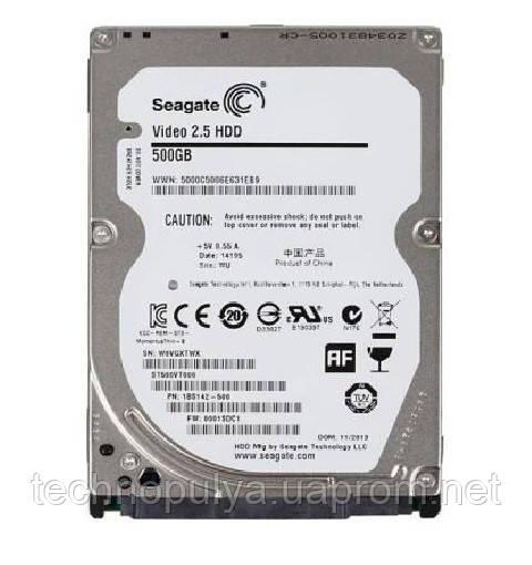 Жесткий диск для ноутбука Seagate 500Gb 5400rpm 16MB Sata III (ST500VT000) Refurbished