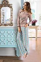 Модная трикотажная пижама