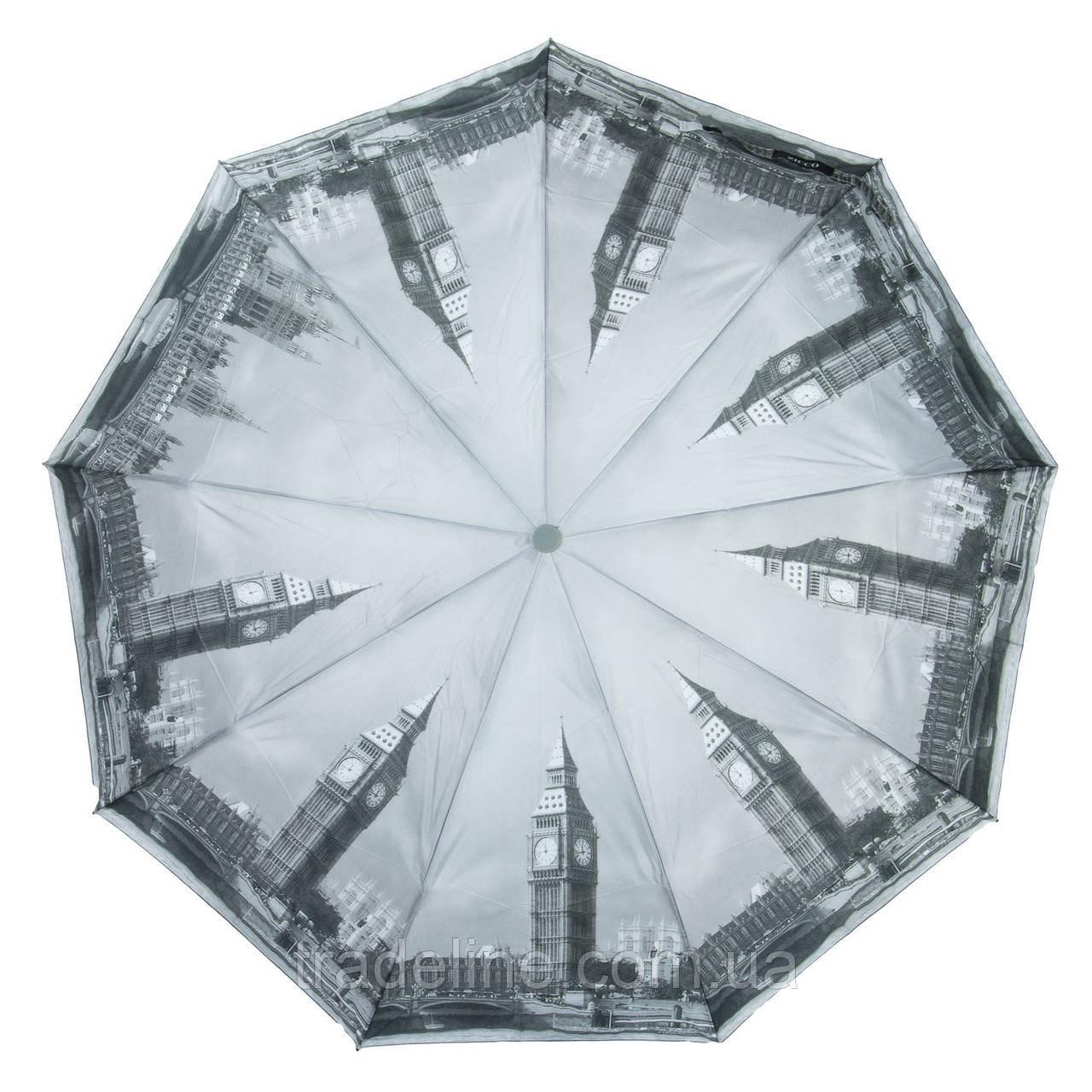 Зонт Жіночий Напівавтомат поліестер 2262-3
