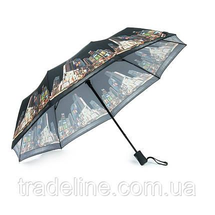 Зонт Жіночий Напівавтомат поліестер 2262-3, фото 2