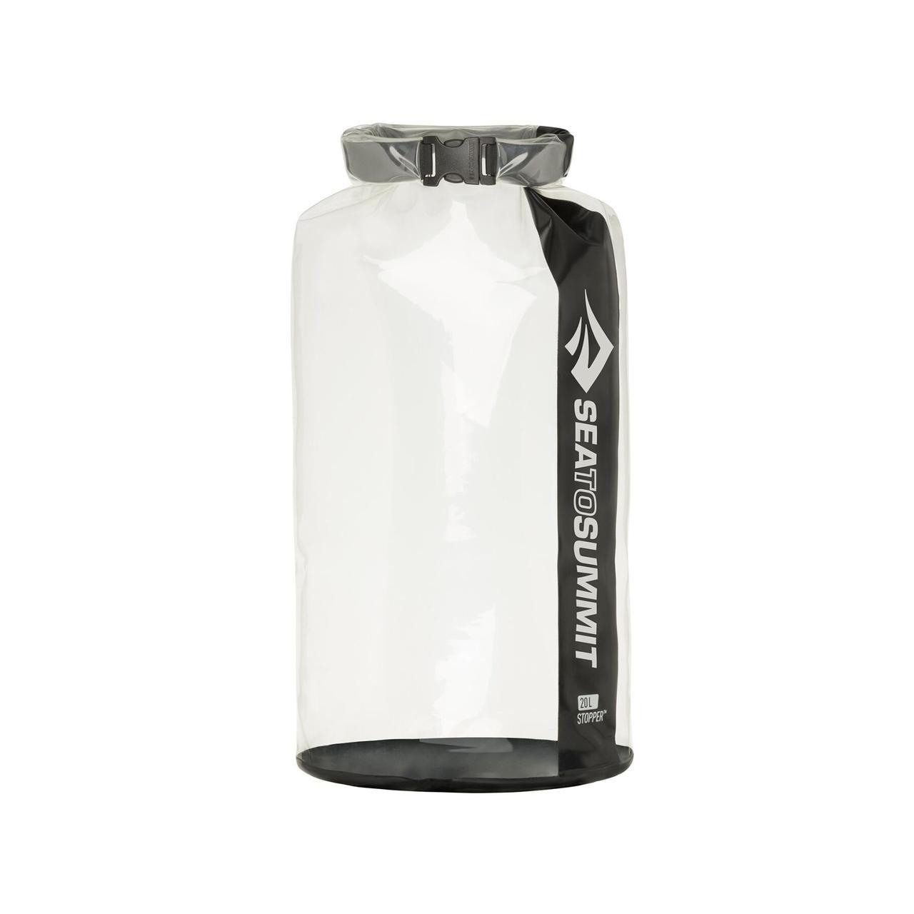 Гермомішок Sea To Summit Stopper Dry Bag 20 Clear Black SKL35-253998