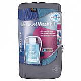 Набір рушників та шампунь Sea To Summit Tek Towel Wash Kit XL Cobalt Blue SKL35-254164, фото 2