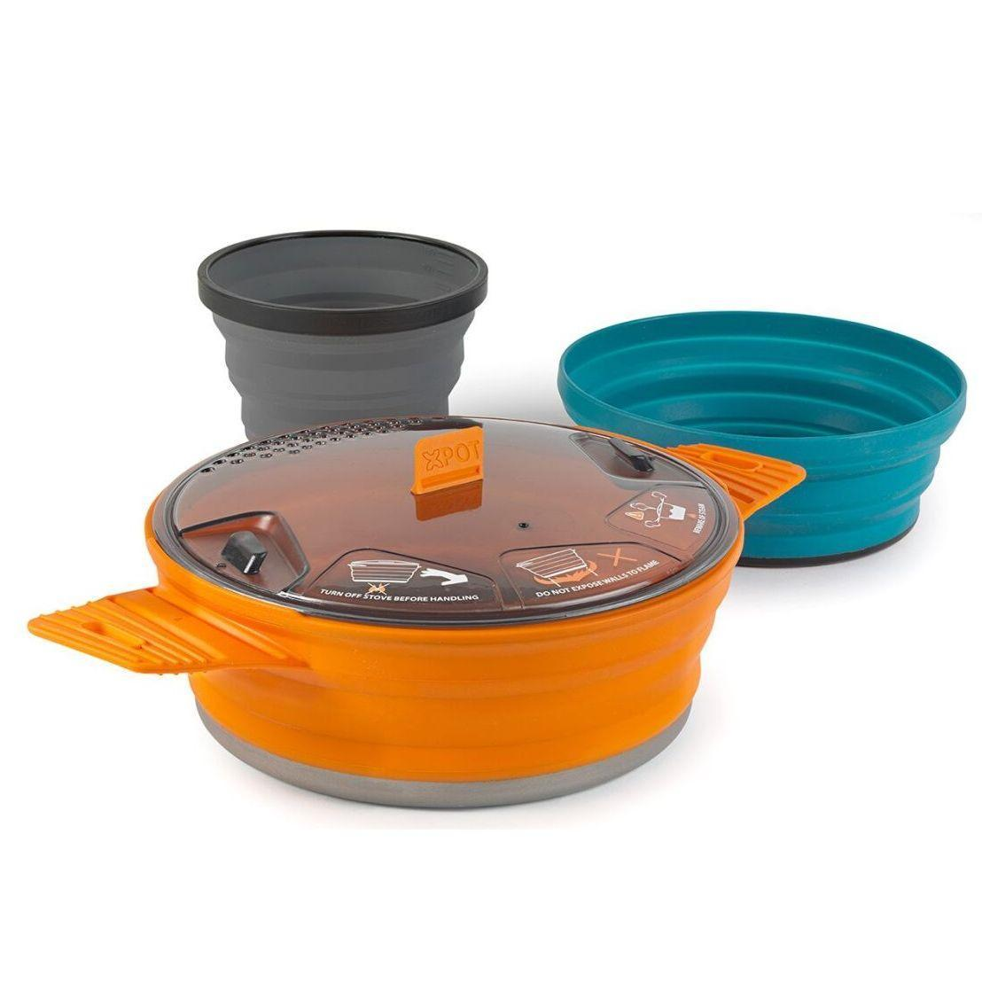 Набір посуду Sea To Summit X-Set 21 Mix Color SKL35-254676