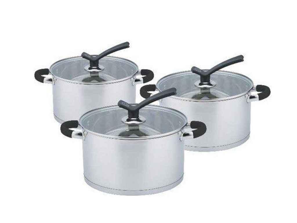 Набор посуды из нержавеющей стали Edenberg 6пр.(EB-3711)
