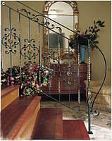 Кованые перила лестницы-15