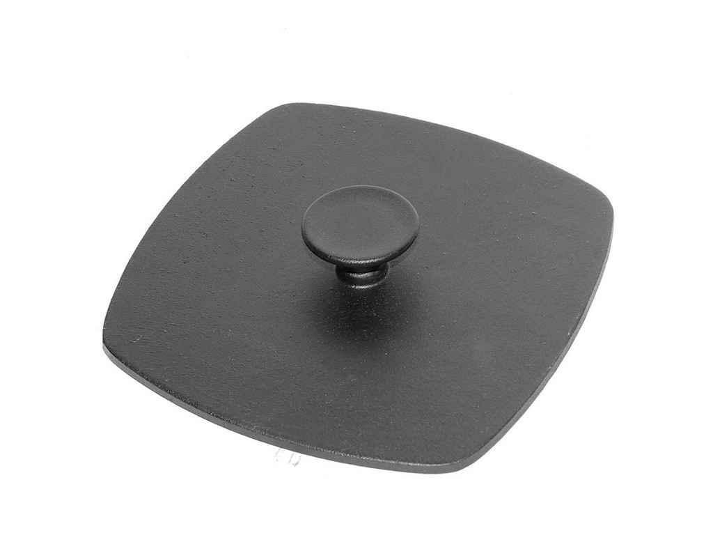 Пресс-крышка БИОЛ (10262) для сковороды-гриль чугунная 225*225 мм