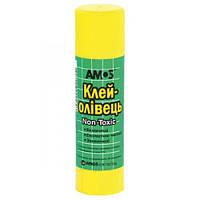 Клей-карандаш 22 гр Amos PVP GSW 22