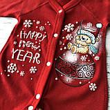 Человечек Новогодний для мальчика и девочки закрытые ручки 41. Размер 56 см, 62 см, фото 2