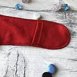 Человечек Новогодний для мальчика и девочки закрытые ручки 41. Размер 56 см, 62 см, фото 3