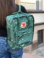 Рюкзак Fjallraven Kanken Green Fable, 16л., фото 1