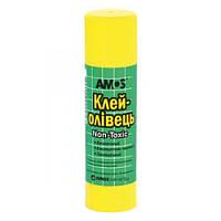 Клей-карандаш 8 гр Amos PVP GSW 8