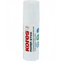 Клей-карандаш 20 гр Kores Paper Stick PVP K17203