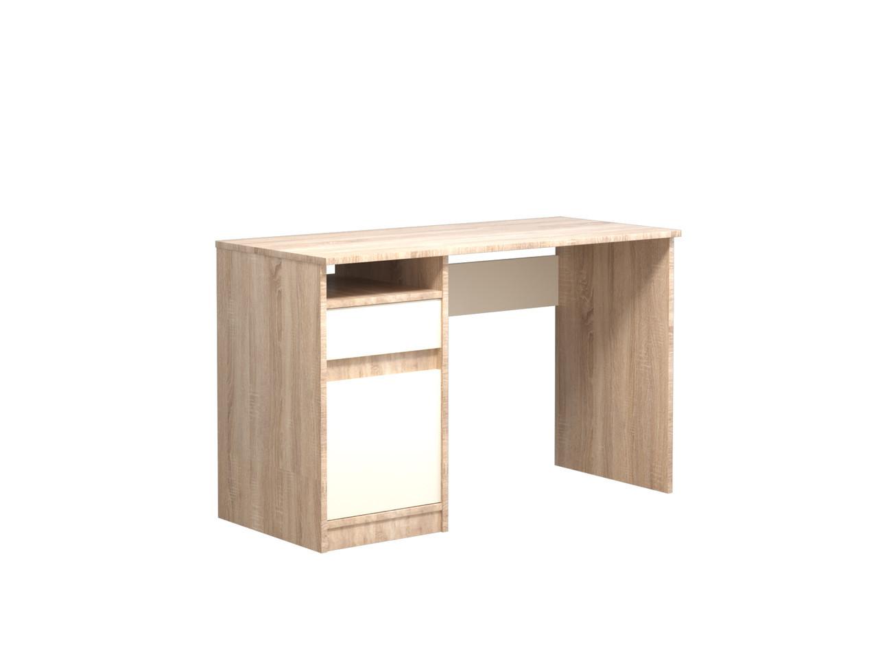 Стол компьютерный Intarsio Jusk A 120х53х78,6 см Роликовые направляющие