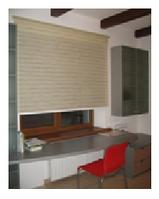 Рулонные шторы из натуральных материалов (открытая система)